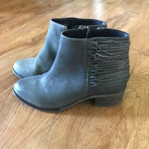 Gray Booties by Steve Madden. Sz 7.5